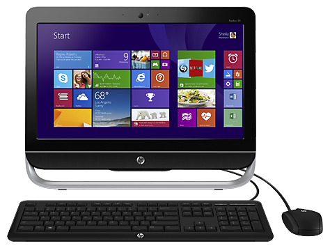 Windows 8 64 Bit (13AM2AC8602) Recovery Kit E9S26AV For HP Pavilion All-in-One CTO Desktop PC  Model Number 20-b210z